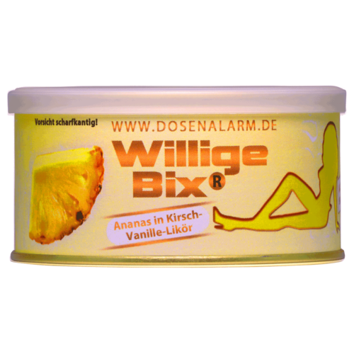 Willige Bix gross - Ananas (Fruchtstücke in Likör)